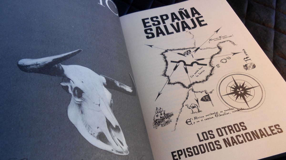 Firma de ESPAÑA SALVAJE en la Feria del Libro de Madrid