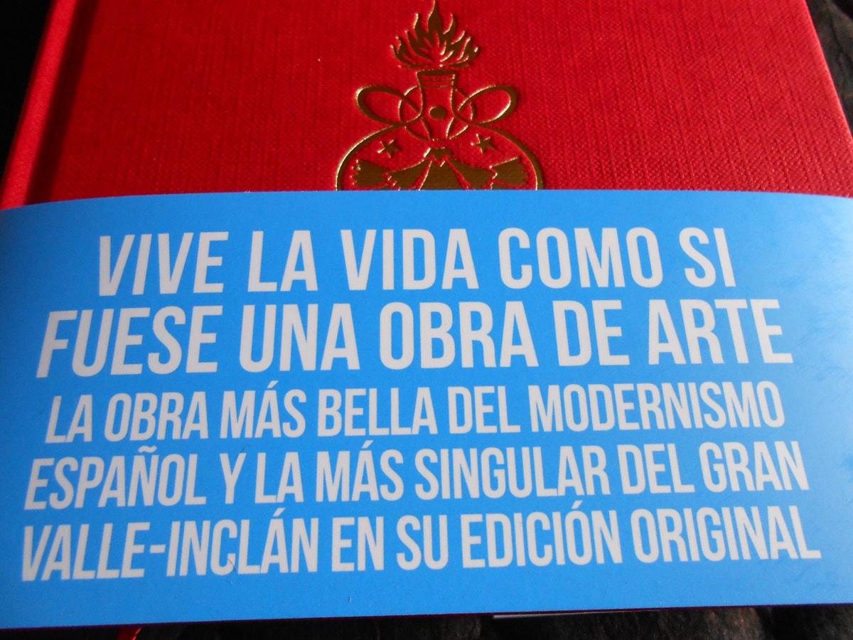 Book-tráiler adelanto de LA LÁMPARA MARAVILLOSA de Ramón del valle-Inclán
