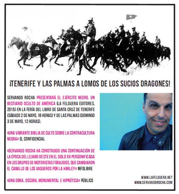 Servando Rocha presenta El Ejército Negro en Canarias